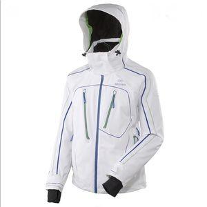 ⭐️Men's Eider Niseko White Winter Ski Jacket L